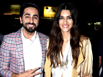Cast of 'Bareilly Ki Barfi' snapped at Punjab Sweets store in Bandra