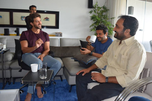 Check out Hrithik Roshan meets mathematician Anand Kumar to begin prep for his next