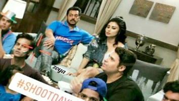 Check out Salman Khan and Mouni Roy shoot for the new season promo for Bigg Boss