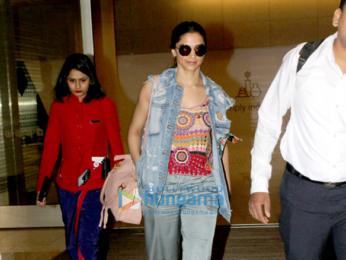 Deepika Padukone snapped at the airport
