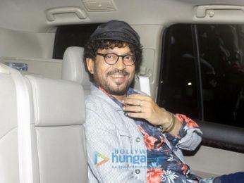 Deepika Padukone and Irrfan Khan snapped post meeting with director Vishal Bhardwaj