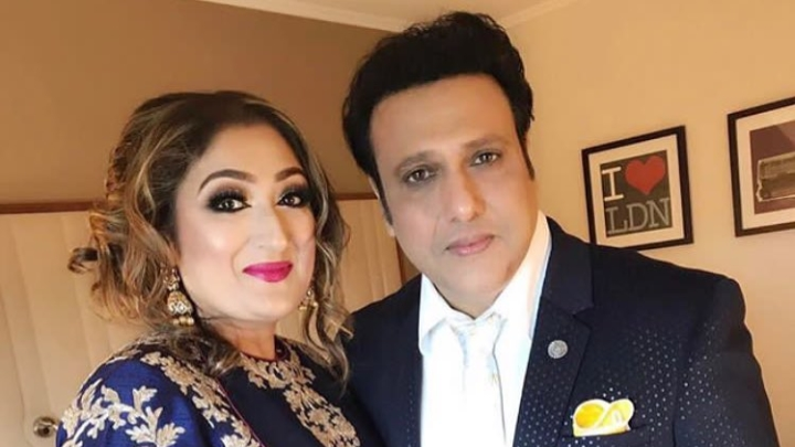 Image result for govinda and wife