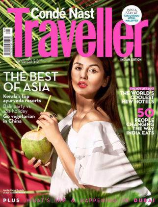 Huma Qureshi On The Cover Of Traveller