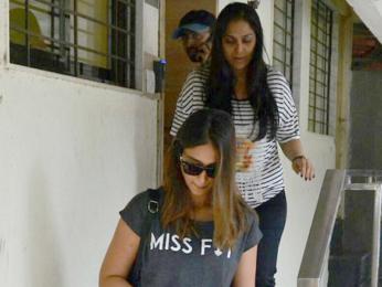 Ileana D'Cruz snapped post meeting at Matrix office