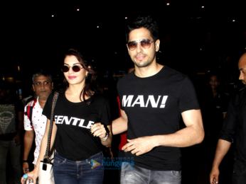 Jacqueline Fernandez, Sidharth Malhotra and Sonam Kapoor snapped at airport