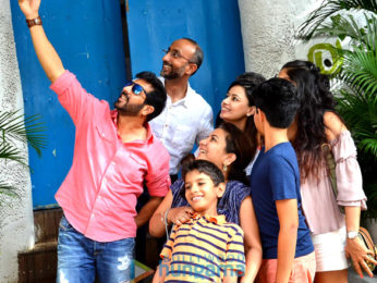 Kabir Khan snapped post lunch at Olive