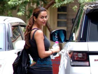 Kareena Kapoor Khan and Amrita Arora snapped at the gym