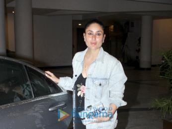 Kareena Kapoor Khan and Karisma Kapoor attend Ganesh Chaturthi celebrations at Manish Malhotra's house