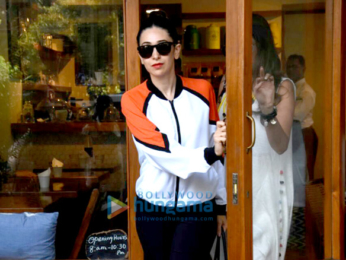 Karisma Kapoor snapped with friends at Sequel