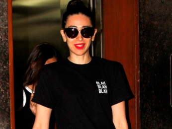 Karisma Kapoor snapped with her daughter post salon session in Bandra