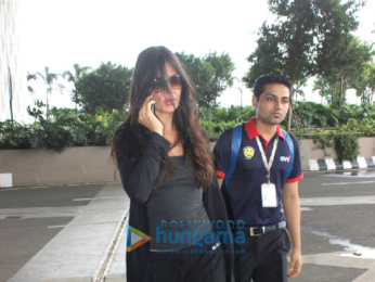 Katrina Kaif snapped at the airport