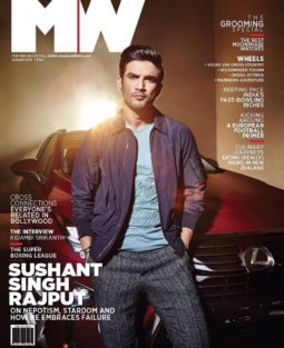 Sushant Singh Rajput On The Cover Of MW Magazine