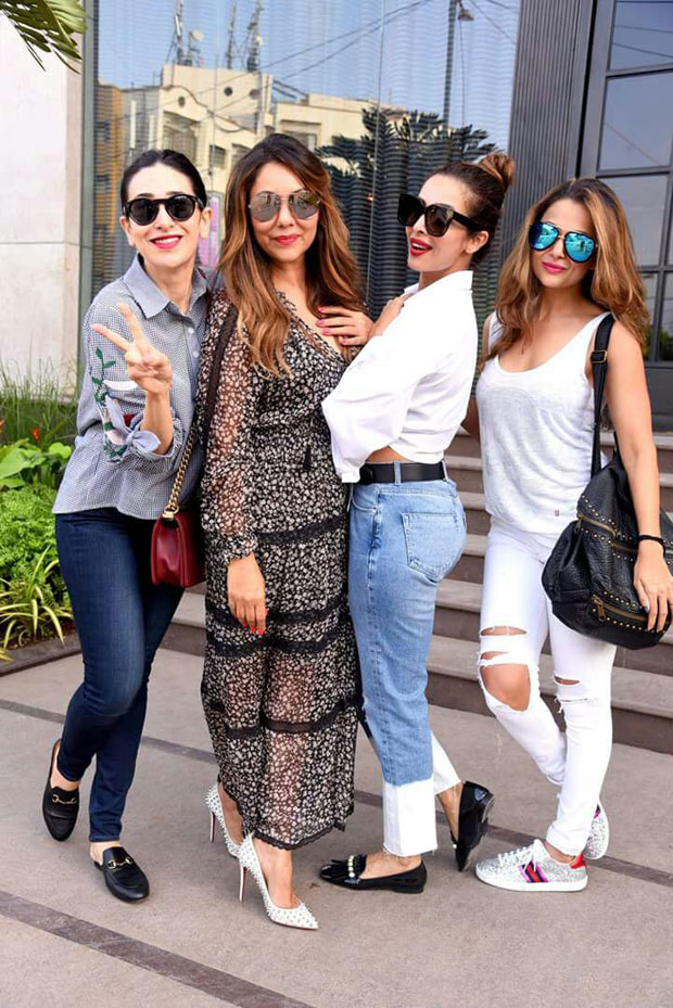Malaika Arora, Karisma Kapoor, Amrita Arora and Sridevi support Gauri Khan at her new store opening-1