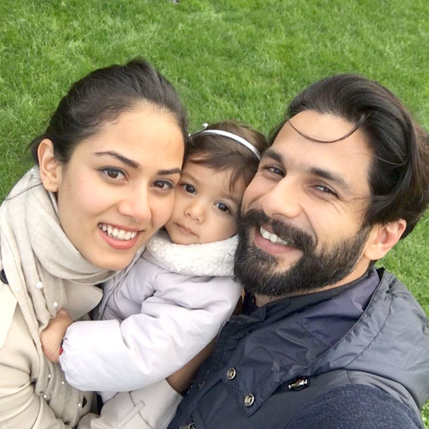 PICTURE PERFECT Shahid Kapoor and Mira Rajput kick start daughter Misha Kapoor's first birthday celebration with a pre-birthday family selfie