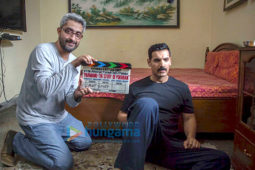 On The Sets Of The Movie Parmanu - The Story of Pokhran