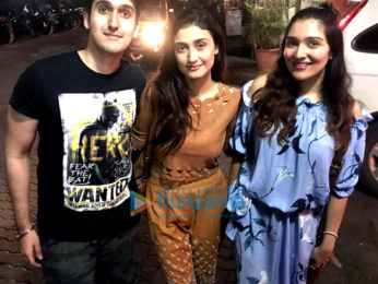 Ragini Khanna hosts a special screening of the film 'Gurgaon' for her relatives and friends