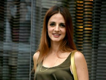 Rani Mukerji and Sussanne Khan snapped at Gauri Khan's store in Mumbai