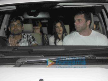 Ranveer Singh and Deepika Padukone snapped attending Ritesh Sidhwani's birthday bash