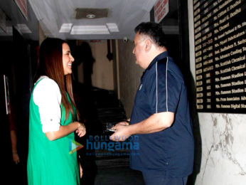 Rishi Kapoor and Neha Dhupia shoot for #NoFilterNeha - Season 2