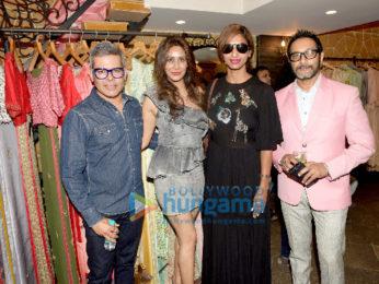 Sagarika Ghatge, Hrishitaa Bhatt attend the showcase of fusion fashion line Hue