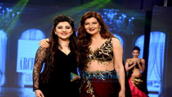 Sangeeta Bijlani and Zareen Khan walk the ramp for Archana Kochhar's fashion showcase