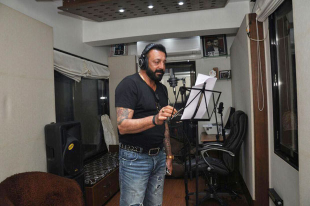 Sanjay Dutt sings a song for Bhoomi