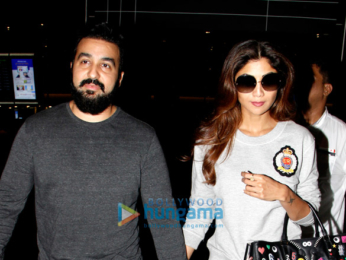 Shilpa Shetty, Jahnavi Kapoor and others snapped at the airport