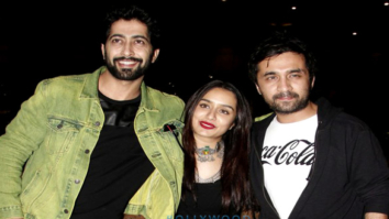 Shraddha Kapoor, Siddhanth Kapoor and Ankur Bhatia snapped at the airport