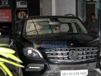 Shraddha Kapoor snapped at the gym