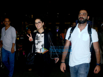 Shruti Hassan, Sunny Leone, Athiya Shetty and others snapped at the airport