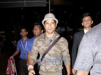 Sidharth Malhotra, Farhan Akhtar, Shreyas Talpade snapped at the airport