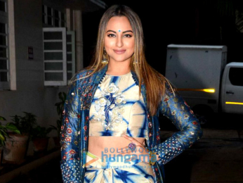 Sonakshi Sinha snapped post an ad shoot in Bandra