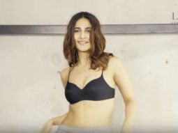Super Sexy Vani Kapoor Strips For A Photoshoot