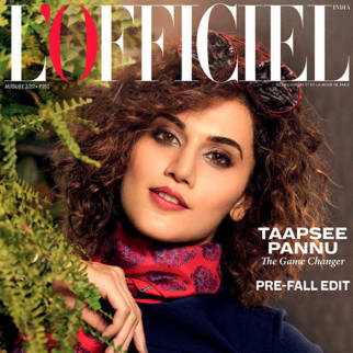Taapsee Pannu On The Cover Of L'Officiel