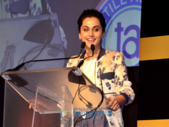 Taapsee Pannu unveils the late R K Layman's granddaughter's creation on commen women