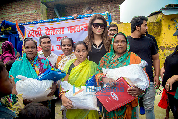 Urvashi Rautela visits flood-affected areas in Uttarakhand