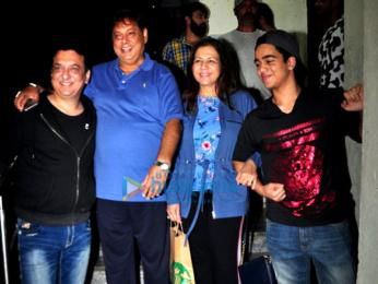 Varun Dhawan and Natasha Dalal snapped post 'Annabelle: Creation' screening