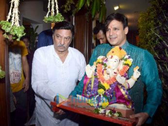Vivek Oberoi's Ganpati visarjan
