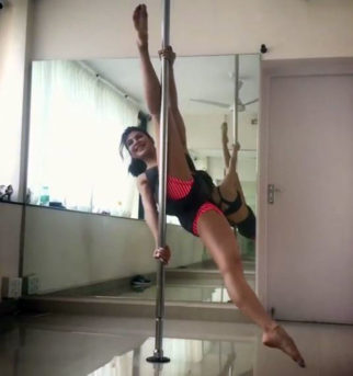 WOW! Here's how Jacqueline Fernandez practices pole dancing at home
