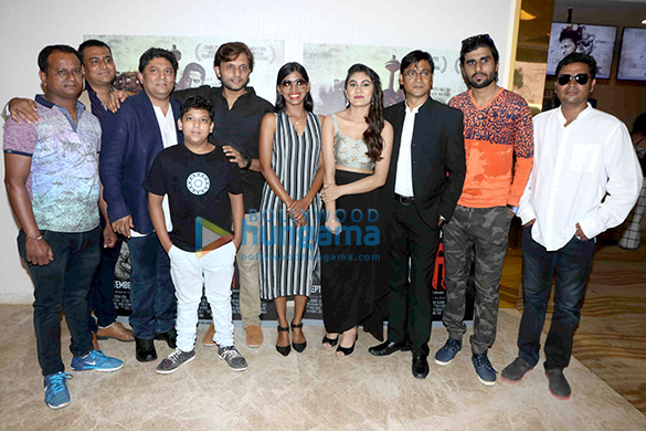 Zeeshan Ayub, Anjali Patil and others attend the trailer launch of 'Sameer'