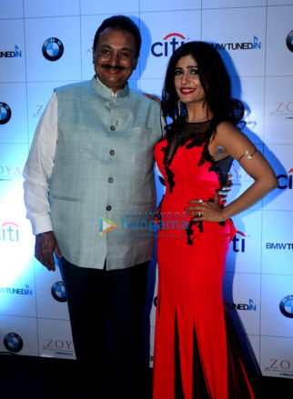 Shibani Kashyap performs at 'BMW Tuned In' event