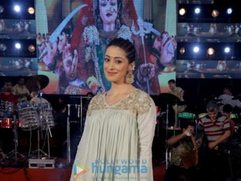 Raai Laxmi snapped promoting her movie Julie 2 at the Kora Kendar dandiya celebrations