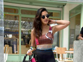 Amyra Dastur snapped at The Kitchen Garden