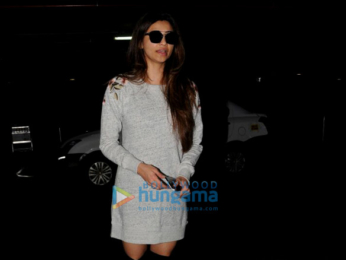 Daisy Shah arrived from London