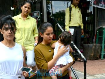 Mira Rajput and Misha Kapoor snapped post shopping in Bandra