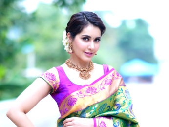 Raashi Khanna's glamorous photoshoot