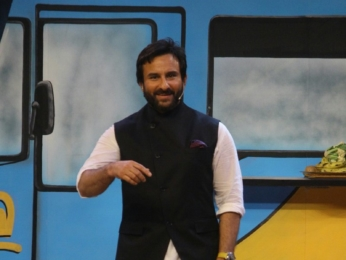 Saif Ali Khan promotes Chef on The Drama Company