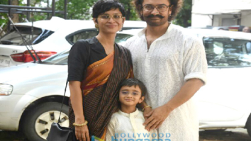 Aamir Khan and family snapped on Eid today