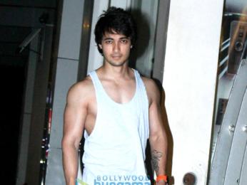Aayush Sharma spotted at a Khar gym