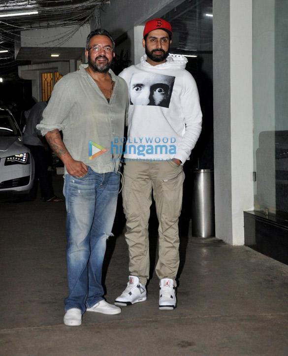 Abhishek Bachchan snapped post 'Haseena Parkar' screening